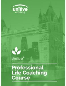 Life Coaching Course London Prospectus